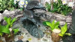 돌고래 분수/ 동물조각상분수/ 수반장식/ 연못장식