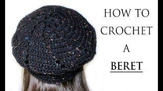 Easy Crochet Beret Hat