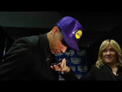 Lonzo Ball Speaks with Magic Johnson After Being Drafted By Lakers