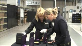 The Countess of Wessex visits the Royal Mint
