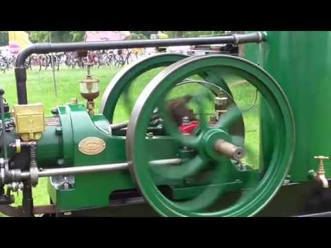 National Gas and Oil   Petrol/Paraffin engine 1924