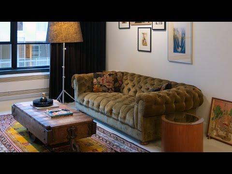 Interior Design — High-Contrast Montreal Loft