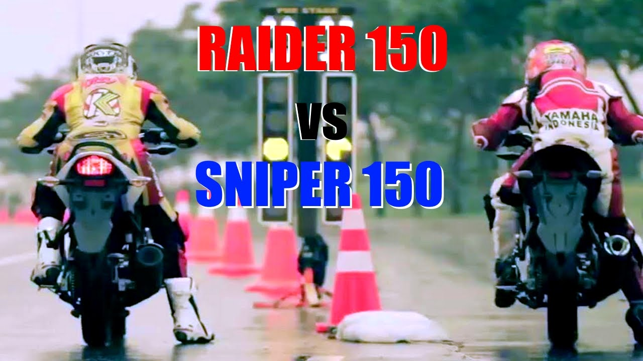 Dragracing Yamaha Sniper Mx King 150 Vs Suzuki Raider Honda All New Cbr 150r Victory Black Red Jepara Youtube