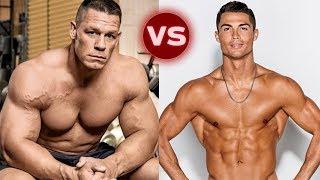 John Cena ve Cristiano Ronaldo Dönüşüm 2018   Hangisi Daha İyi?