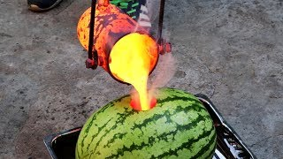EXPERIMENT: LAVA vs WATERMELON