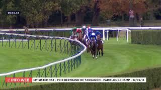 Vidéo de la course PMU PRIX BERTRAND DE TARRAGON