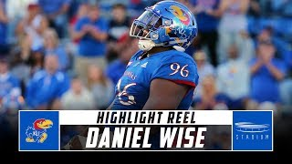 Daniel Wise Kansas Football Highlights - 2018 Season | Stadium