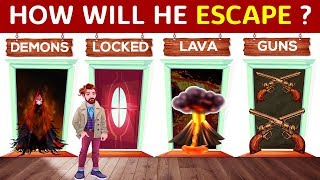 4 RIDDLES on Escape Mystery (PART 4)   Can You Solve It?   Popular RIDDLES
