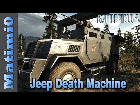 Heavy Jeep is Amazingly Powerful - Double Vision - Battlefield 4