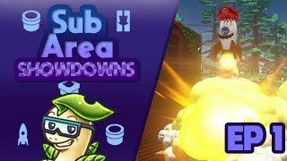 The Start of Sub Area Showdowns! w/ Bayleef - Ep 1 | Super Mario Odyssey (SAS)