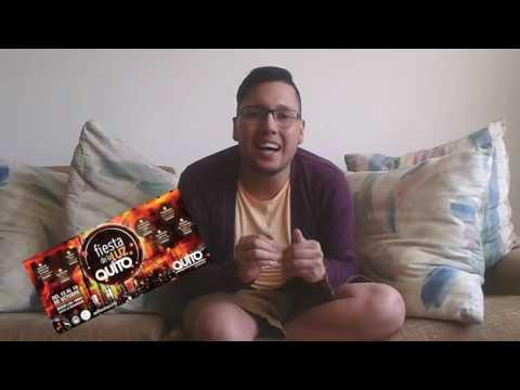 tips para vivir en ecuador- 1er video festival de luces de Quito