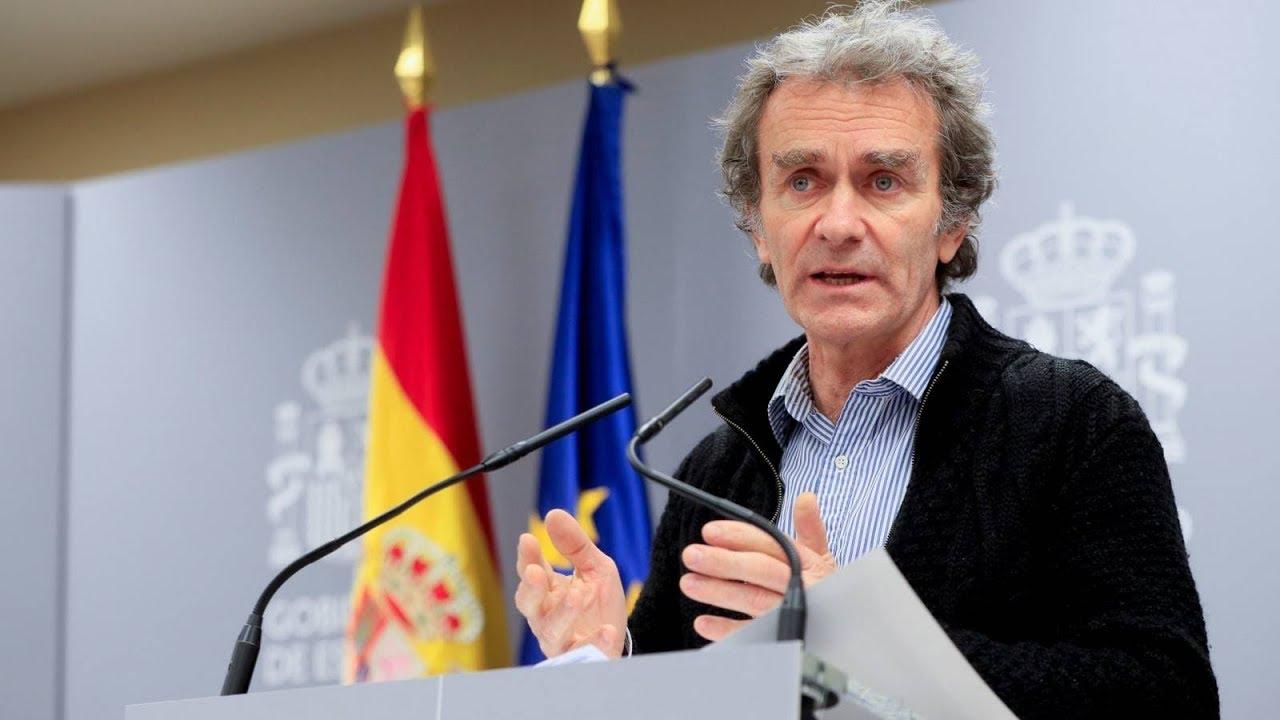 Rueda de prensa Fernando Simón 18 Mayo 2020