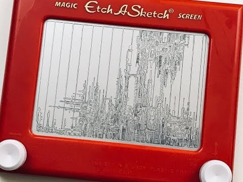 Etch-a-Sketch Doodling and History