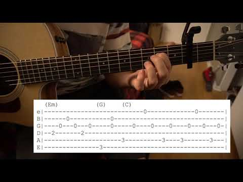 Love Like Ghosts // Lord Huron // Chords + Tabs // Easy Guitar Lesson