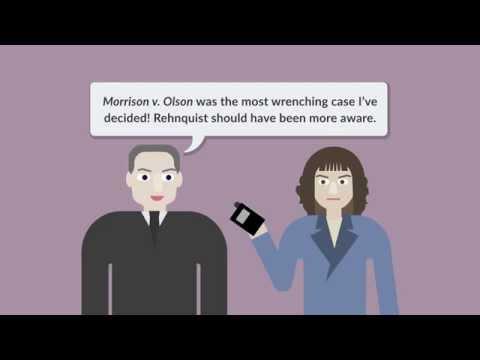Morrison v. Olson | quimbee.com