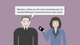 Morrison v. Olson   quimbee.com
