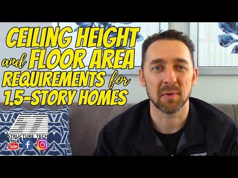 Bedroom Ceiling Height And Floor Area