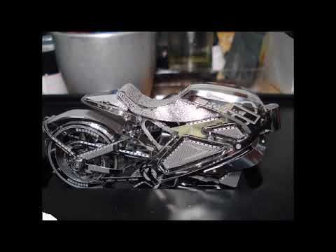 3D Metal Model Avenger Motorcycle