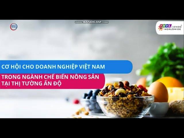 20 Doanh nghiệp Việt kết nối với thị trường Ấn Độ
