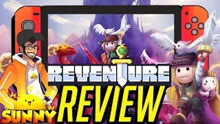 Reventure Nintendo Switch Review | Rescue The Princess? Or Die Horribly To A Dragon? (Gameplay) (Video Game Video Review)