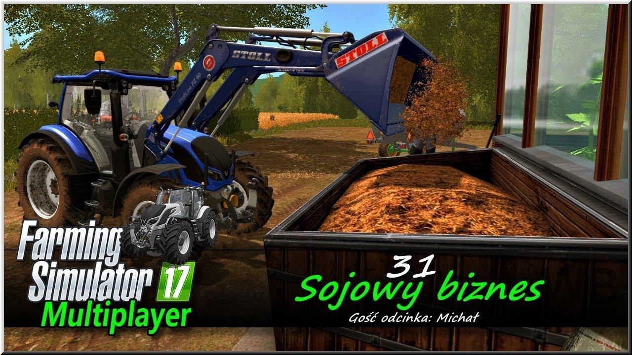 "Farming Simulator 17 – #31 ""Sojowy biznes"""