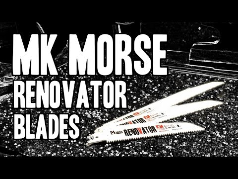MK Morse Renovator Reciprocating Saw Blades - MADE IN USA