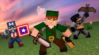 Video LIVE: Minecraft PE : Pocket Heroes #20 (ROBIN HOOD GAMER) download MP3, 3GP, MP4, WEBM, AVI, FLV November 2018