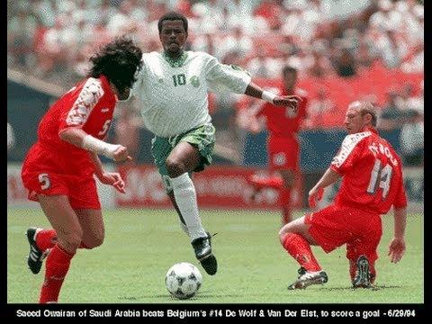 Owairan gol Arabia Saudita - Belgio mondial 1994