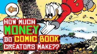 How Much MONEY Do COMIC BOOK ARTISTS Make?