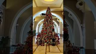 Christmas Tree at Fairmont The Palm Jumeirah Dubai 11.12.2916