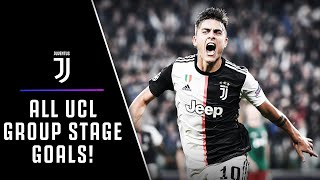 ALL GOALS! | JUVENTUS 2019/20 UEFA CHAMPIONS LEAGUE GROUP STAGE