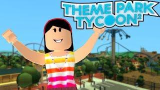 AUNT GRACE'S AMUSEMENT PARK!!! -ROBLOX (THEME PARK TYCOON 2)