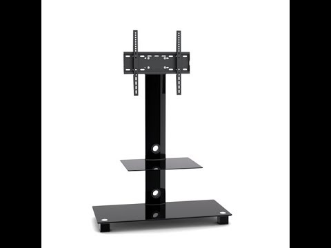 how to install a tv floor stand tv mount texonic model tsx5 youtube. Black Bedroom Furniture Sets. Home Design Ideas
