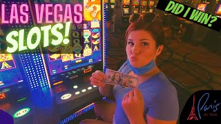 Download lagu I Put $100 in a Slot at the Paris Hotel - Here's What Happened! 🤩 Las Vegas 2020