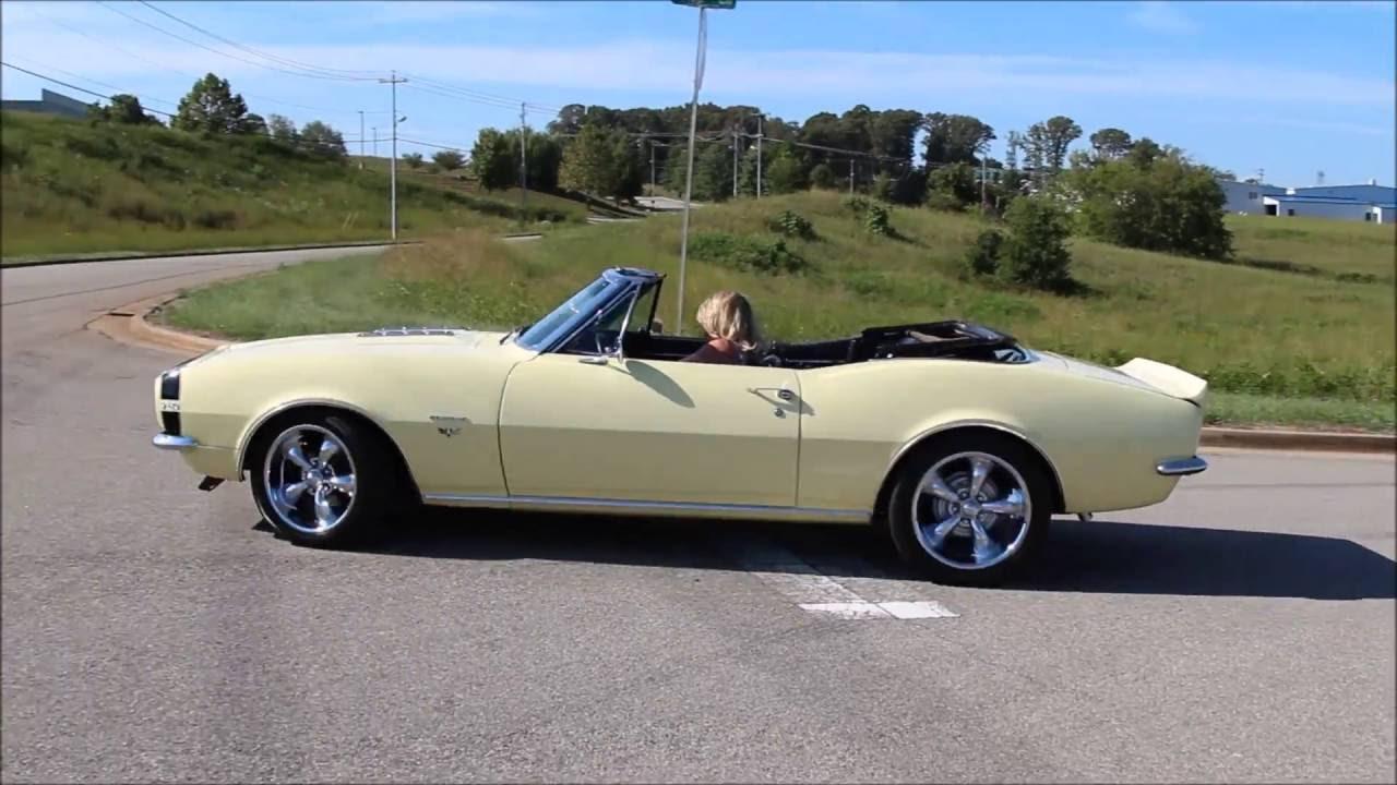 Camaro chevy camaro 1967 : 1967 Chevy Camaro Convertible - YouTube