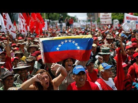 فنزويلا: أنصار مادورو يتظاهرون ضدّ تقرير للأمم المتحدة  - 11:53-2019 / 7 / 14