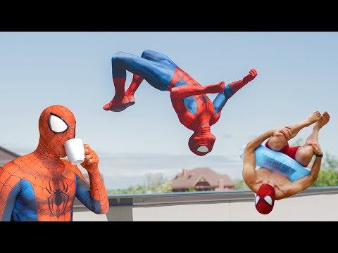 Best Of Spiderman In Real Life Compilation (Parkour, Stunts)