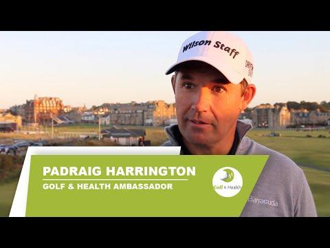 Padraig Harrington - Golf and Health Ambassador (Full Interview)