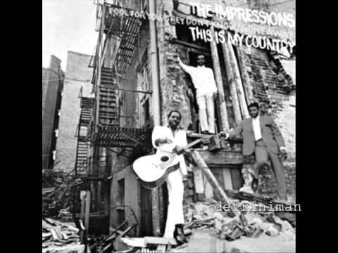 Curtis Mayfield and The Impressions  Gone Away