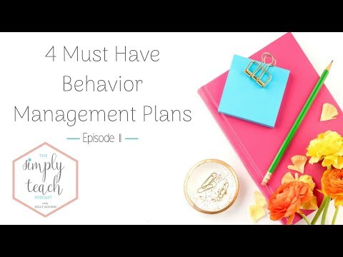 How you can Create a highly effective Behavior Management Plan