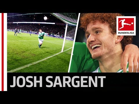 Josh Sargent - US Boy Scores Debut Goal with First Touch