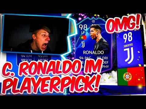 FIFA 19: OH MEIN GOTT!!! C. RONALDO TOTKS (98) IM PLAYER PICK 🔥😍 ICH DREHE ABSOLUT DURCH!