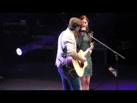 Bounty (Live) - Dean Brody and Cassadee Pope February 12th 2014 Winnipeg