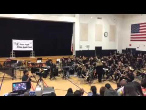Grace Yokley Middle School Jazz band