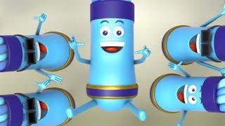 Aquarius Telly Vision | Stories For Children | Kids Cartoon Videos