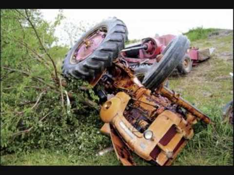 Some Tractor And Combine Accidents Youtube