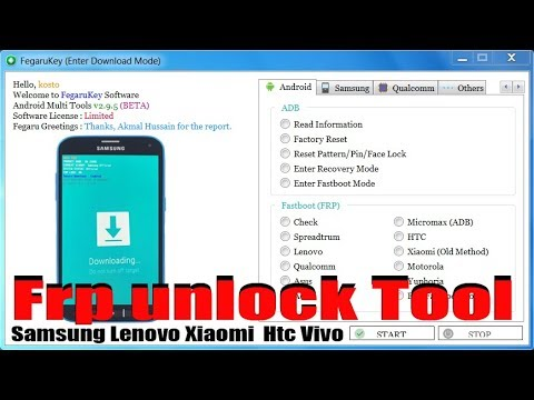 All In One Frp Tool | Unlock All Android 8.1/7.0/6.1 Device