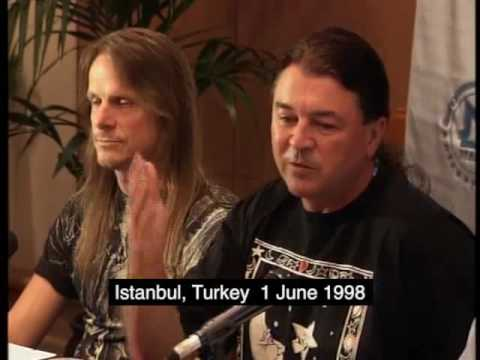 Deep Purple's Press Conference in Turkey 1998