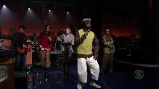 Black Eyed Peas - Dont Lie LIVE on Letterman