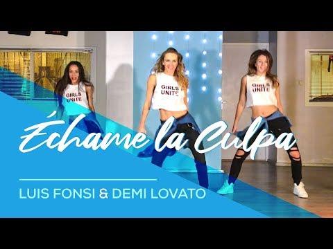 Échame La Culpa - Luis Fonsi - Demi Lovato - Easy Fitness Dance Choreography - Zumba - Coreografia